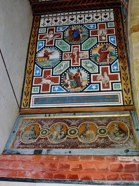weld mausoleum, chideock, dorset