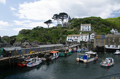 Polperro Harbour. 5