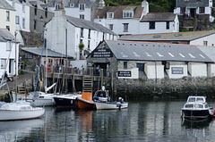 Polperro Harbour. 9