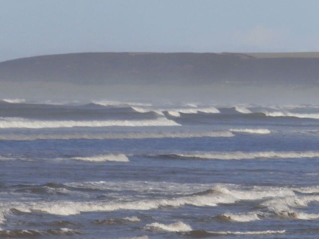 Quite a few waves