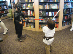 Star Wars Reads Day, Mysterious Galaxy, Redondo Beach CA