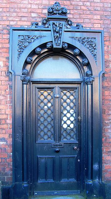 Doorway, No 15. Birch Terrace, Hanley, Stoke on Trent (Apparently due for demolition)