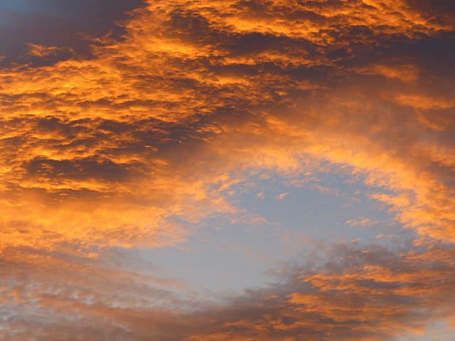...gros nuage d'automne...
