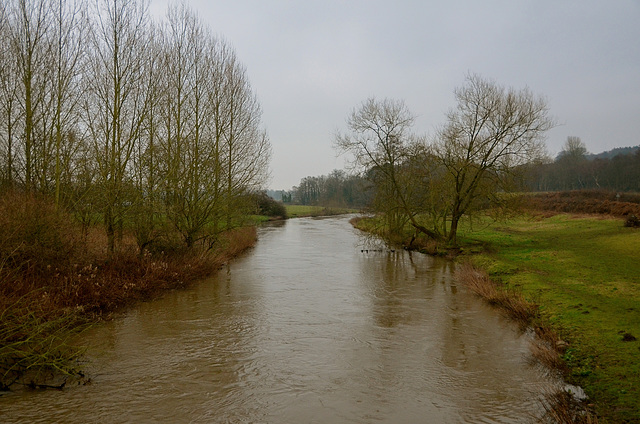 River Trent, Little Haywood