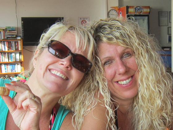 Mandi and Karen