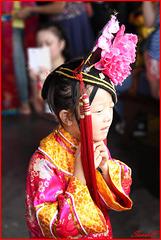 La petite fille chinoise