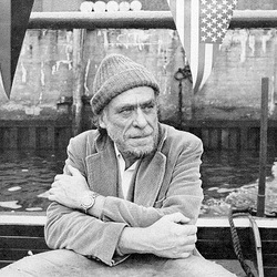 Bukowski kun flagoj