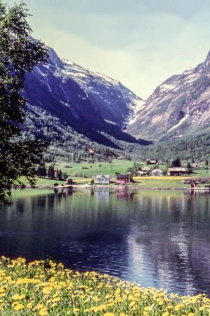 Norway 1970 - Svaeradalen - 6.6.70  (000°)