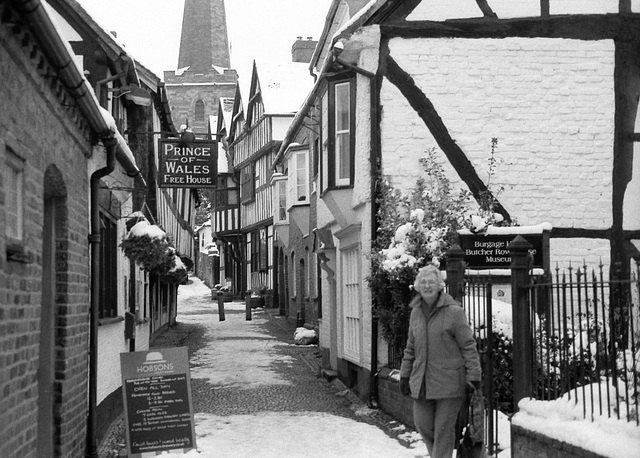 Ledbury in the Snow - January 2013