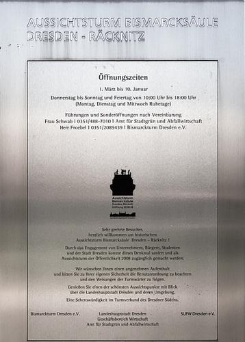 Bismarckturm Dresden-Räcknitz