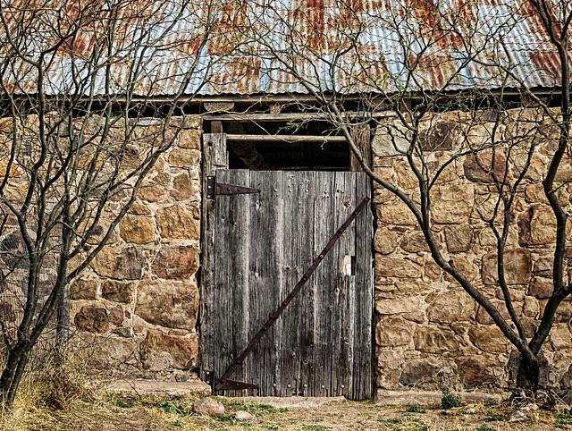 Stone Walled Pole Barn