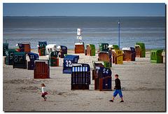 Strandleben ...... hinter Gittern {;o)