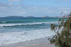 Double Island Point from Rainbow Beach