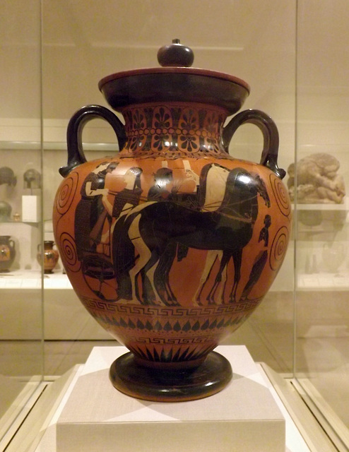 Ipernity Terracotta Neck Amphora Attributed To Exekias In The