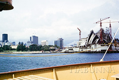 Sydney Opera House - way back!