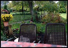 Ende eines Gartenjahres (9x PiP)