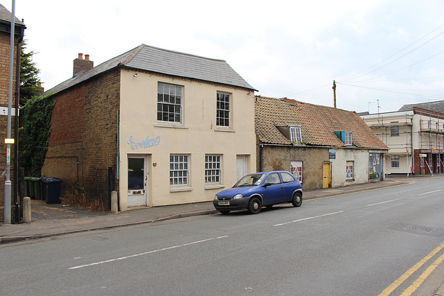 Empty shop, High Street, Chatteris, Cambridgeshire