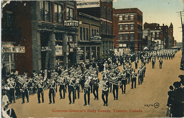 Governor-General's Body Guards, Toronto, Canada