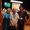 2013.10.12Mi partoprenis al la 100a Japana Esperanto- Kongreso. In Japan the 100th Esperant convention.Mr.Yamamoto is a Japanese and Mr.Song comes from Korea.We are all good friends.