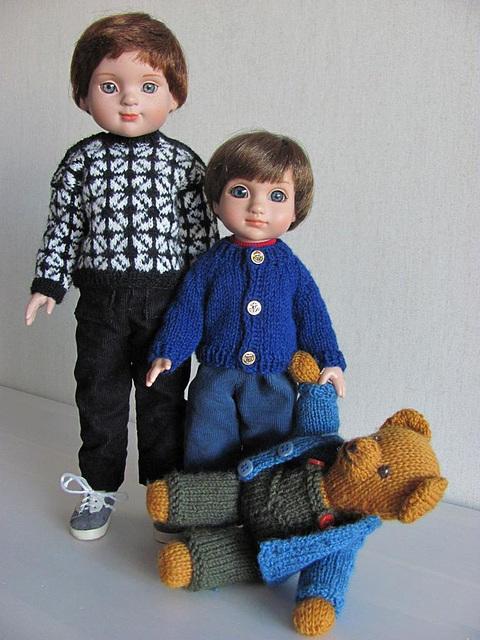 Sandy, Mikko and Nalle