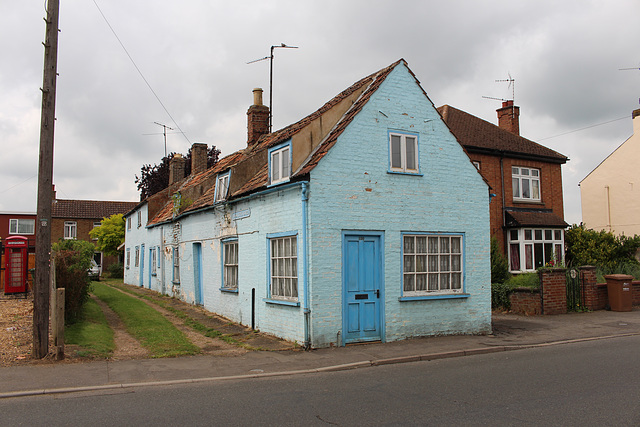 Derelict House, Whaleys Yard, High Street, Chatteris, Cambridgeshire