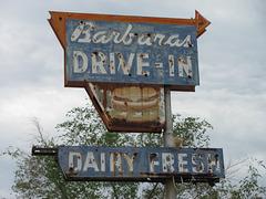 Barbaras Drive-In Rusty Burger