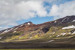 Tungnafellsjökull from Nýidalur hut