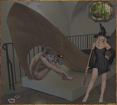 Création Valeriane  / Halloween BDSM.
