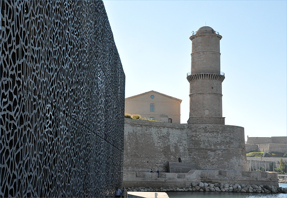le fort saint Jean vu du MuCEM