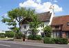 Cottage with walnut tree