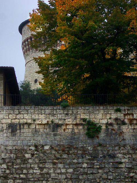 Castello di Brescia, Torre dei Prigionieri. Seconda metà del XV secolo.
