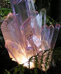 Le quartz s'illumine