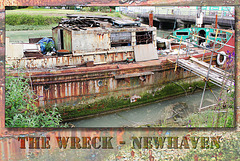 The wreck Newhaven - 14.6.2014