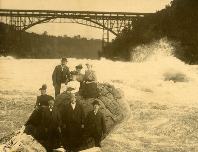 Braving the Whirlpool Rapids at Niagara Falls