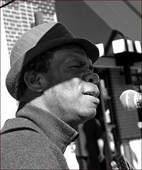 Jazz & Blues Guitarist (B & W)
