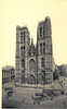 Old postcards of Brussels – St. Gudula Church