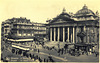 Old postcards of Brussels – The Stock Exchange