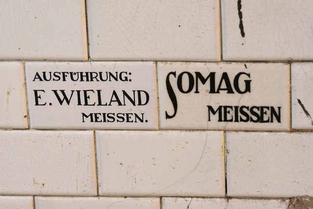 Meißen 2013 – E. Wieland and Somag did this