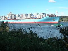 MAERSK TAIKUNG einlaufend Hamburg
