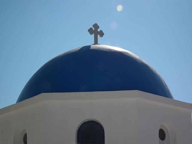 Classic blue dome