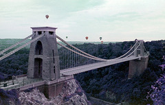 Suspension Bridge and Balloons