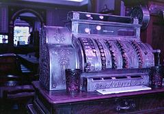 Purple Cash Register
