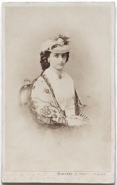 Karoline von Gompertz-Bettelheim by Miethke & Wawra