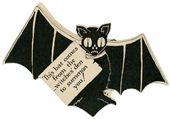 This Bat Comes from the Witches' Den to Summon You!