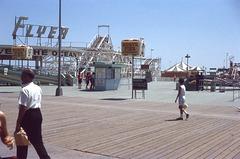 The Flyer Roller Coaster, Hunt's Pier, Wildwood, N.J.