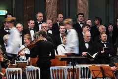 A performance of the Matthäus Passion
