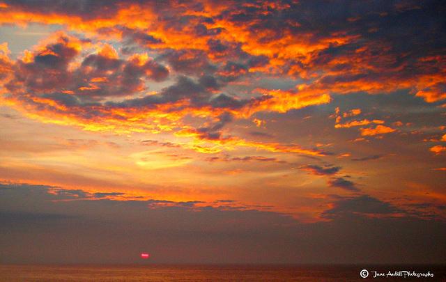 North Sea Sunsets