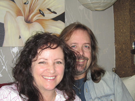 My wonderful son Tony and his fiancee Stevie