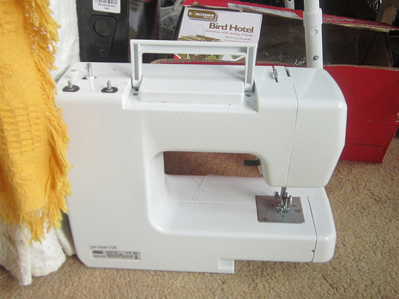 My important sewing machine