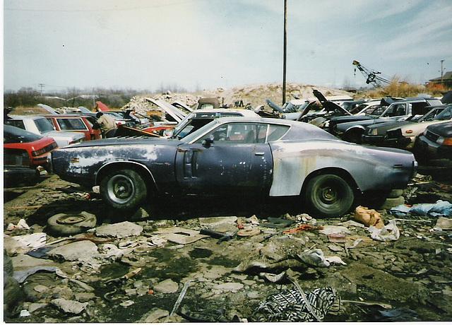 Dodge charger junkyard